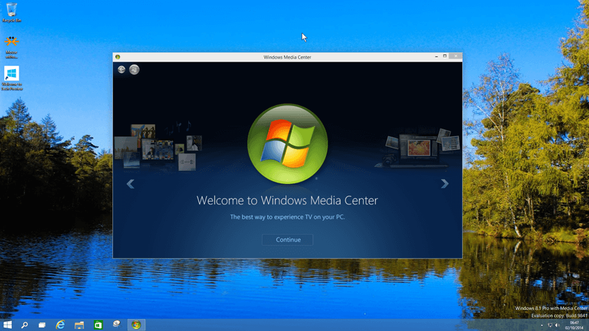 Alternatives to Windows Media Center