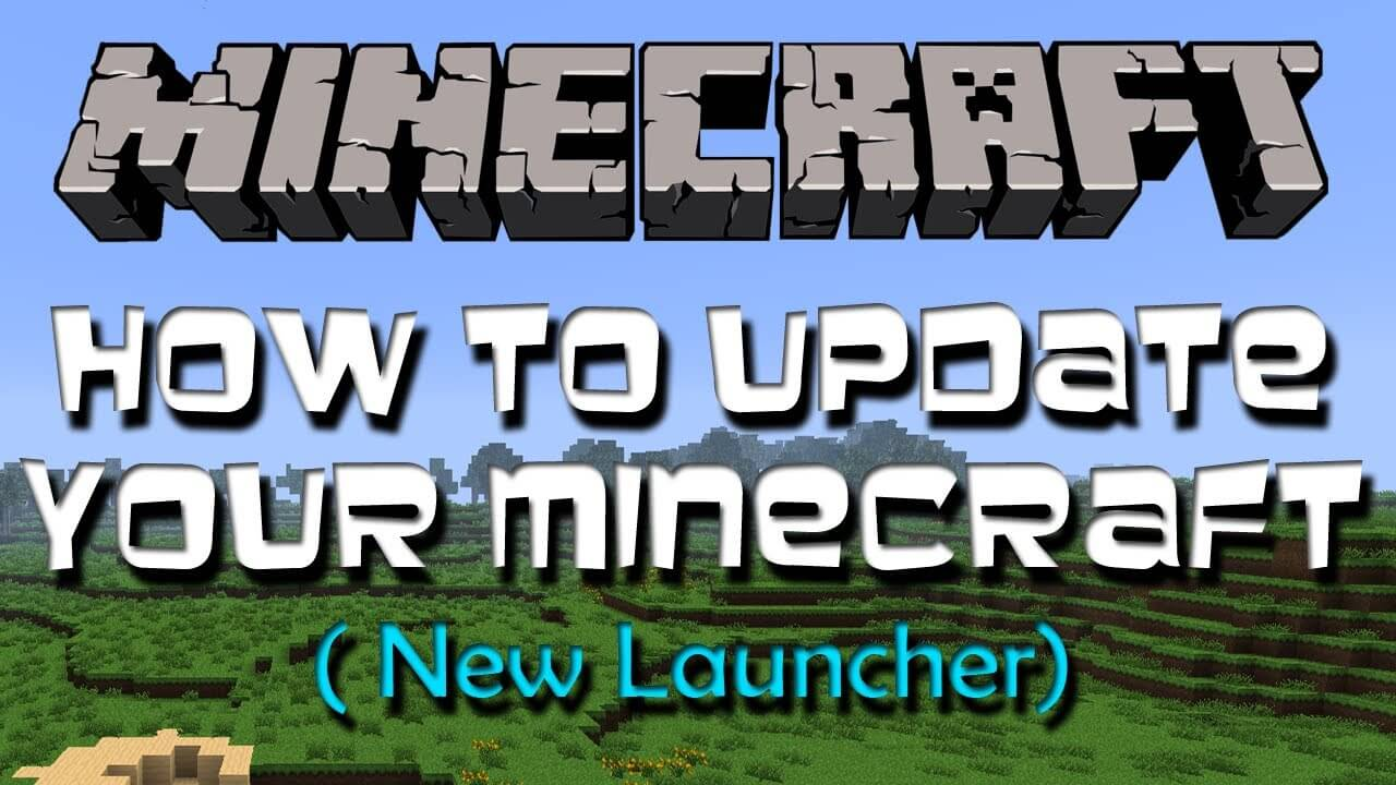 How to update minecraft