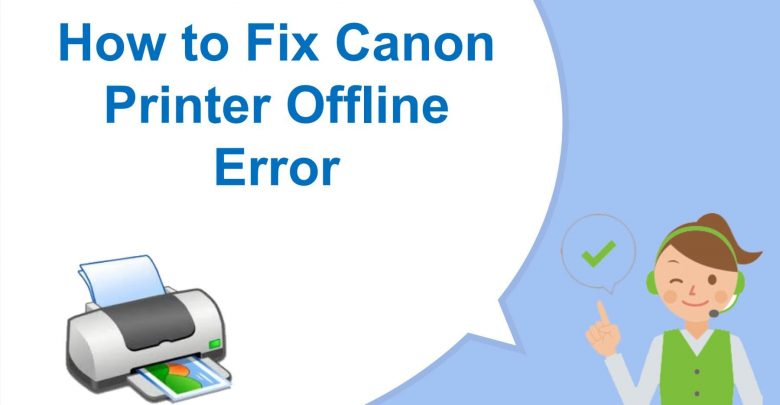 fix Canon Printer Offline issue