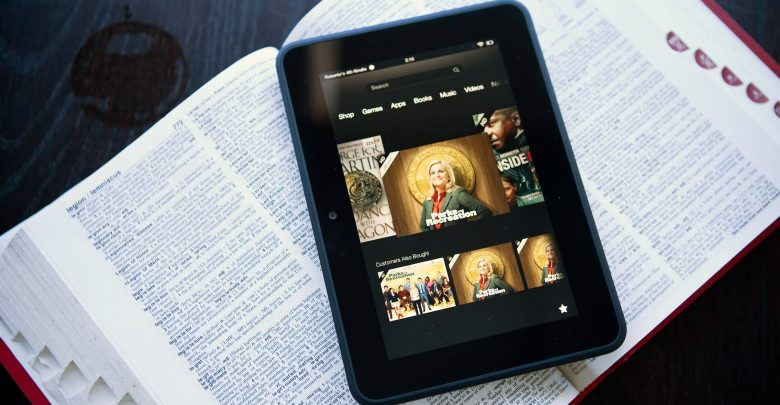 reset kindle fire
