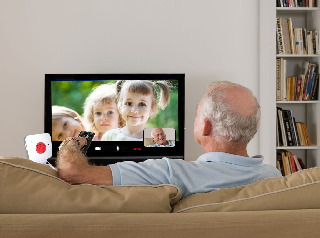Video chat on any TV you want with the Sirona.TV
