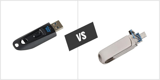 Differences between MemorySafeX and Photo Stick